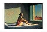 Edward Hopper - Ranní slunce, c. 1952 Plakát