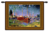 Argenteuil Wall Tapestry by Claude Monet