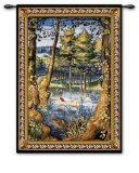 Verdure with Animals Wall Tapestry