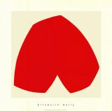 Red White, c.1962 Silketrykk av Ellsworth Kelly
