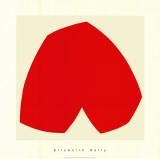 Red White, c.1962 Serigraph by Ellsworth Kelly
