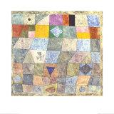 Freundliches Spiel Prints by Paul Klee