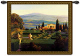 Villa d&#39;Orcia Wall Tapestry by Max Hayslette