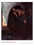 The Kiss, 1897 Posters by Edvard Munch