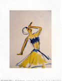 Dancing, c.1910-11 Posters by Ernst Ludwig Kirchner