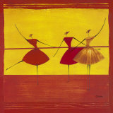 Ballerinas I Prints by Thierry Ona