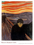 Despair, 1894 Posters by Edvard Munch