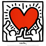 (Ohne Titel) Poster von Keith Haring