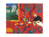 Harmonie Rouge Affiches par Henri Matisse