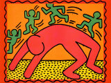 Untitled, 1982 Pósters por Keith Haring