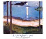 Moon Light, 1895 Posters by Edvard Munch