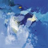 Blau Poster von Pascal Magis