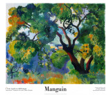 Saint Tropez Landscape Posters by Henri Manguin