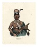 Saukie Chief Giclee Print by  McKenney & Hall