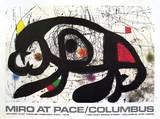 Joan Miró - 1979 at Pace Columbus - Koleksiyonluk Baskılar
