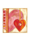 Pop Hearts III Prints by Nancy Slocum