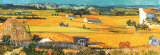 Harvest at Arles, c.1888 Art by Vincent van Gogh