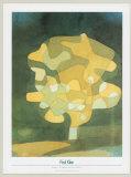 Fig Tree Poster von Paul Klee