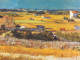 Harvest at Arles, c.1888 Posters by Vincent van Gogh