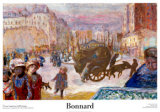 Morning in Paris Posters by Pierre Bonnard
