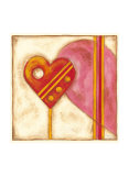 Pop Hearts II Prints by Nancy Slocum