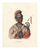 An Ioway Chief Giclee Print by  McKenney & Hall