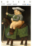 Picadors Posters by Fernando Botero