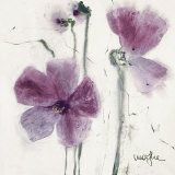 Pansies VI Prints by  Marthe