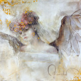Flower Angel Prints by Elvira Amrhein
