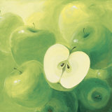 Apples Prints by Inna Panasenko