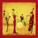 Jazz Band Posters af Thierry Ona