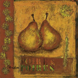 Pears Prints by Francoise Persillon