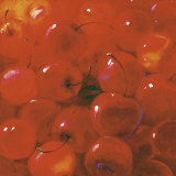 Cherries Prints by Inna Panasenko