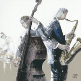 Jazz Band Prints by Bernard Ott