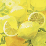 Lemons Print by Inna Panasenko