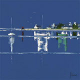 Sailboats I Prints by Frédéric Flanet