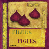 Figs Print by Francoise Persillon