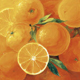 Oranges Posters by Inna Panasenko