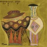 Moroccan Ceramics IV Affiches par Valérie Maugeri