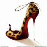 Highheels, Wild Passion Poster by Inna Panasenko