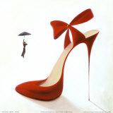 Highheels, Obsession Posters af Inna Panasenko
