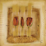Three Roses II Prints by Gemma Leys