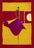 Bullfighter with Cape II Posters by Thierry Ona