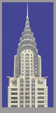 Chrysler Building Prints by Richard Haas