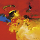 Red, Blue Kunstdrucke von Pascal Magis