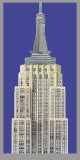 Empire State Building Print by Richard Haas