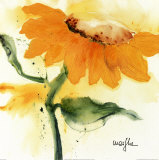 Sunflower IV Affiches par  Marthe