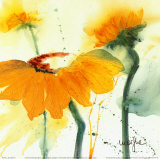 Sunflower V Prints by  Marthe