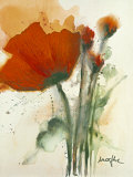 Bunch of Poppies I Posters by Marthe