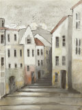 Town Houses II Prints by Ingeborg Dreyer